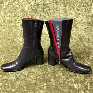 Donald J. Pliner Shoes - VINTAGE 💅 2000s Donald J. Pliner black heel boot